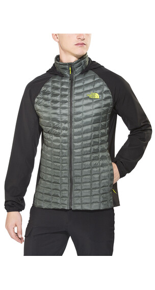 The North Face Thermoball Hybrid Hoodie Men spruce green/tnf black